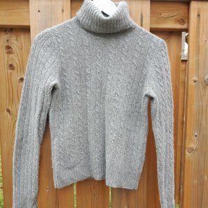 j. crew turtleneck Sweater Merino Cashmere M